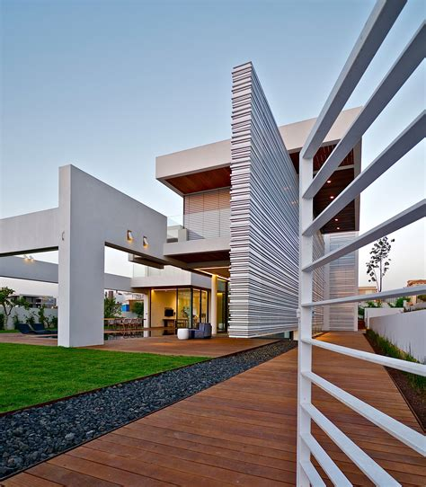 architects home design modern luxury villas designed by gal marom architects