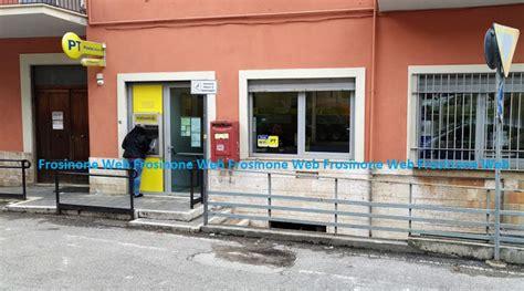 uffici postali frosinone terrore alle poste frosinone italia frosinone notizie