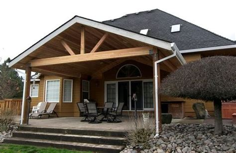 Gable End #Patio Cover, Newberg, #Oregon! tntbuildersinc