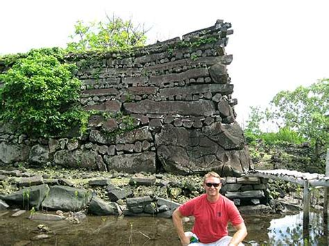 Nan Madol Ruins Temwen island Pohnpei Micronesia - travel ...