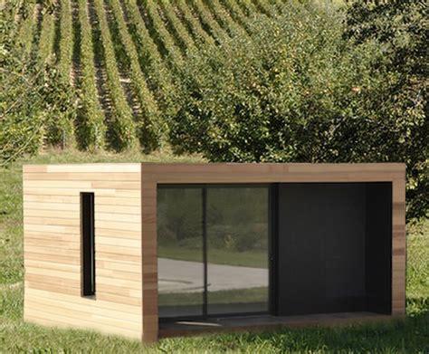 Module Bois Extension Maison by Iwine Modules En Bois Dans Les Vignes La Maison Bois
