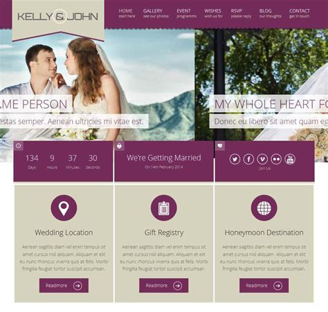 wedding planner wedding planner wordpress themes