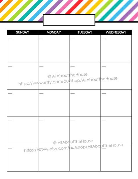 two page monthly calendar 2015 printable calendar