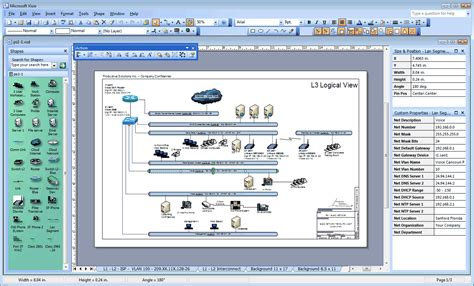 visio diagram check the network visio network diagram and drawings