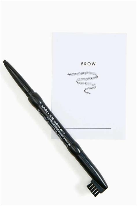 Brown Nyx Auto Eyebrow Pencil Diskon rope em in satin jumpsuit eyebrow pencil eyebrows and