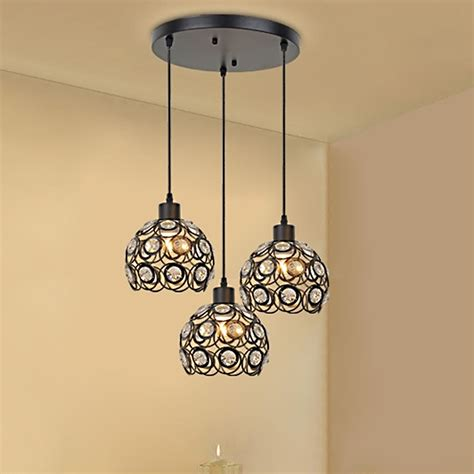 modern pendant lighting for dining room creative design modern glass crystal pendant lights 3