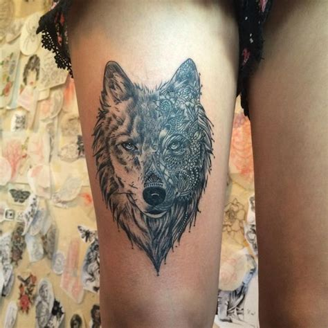 lone wolf tattoo designs 45 awesome tribal lone wolf designs meanings