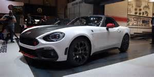 Abarth 124 Spider Abarth 124 Spider Automobile Diagnose
