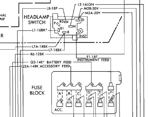 mopar headlight switch wiring diagram wiring diagram 2018