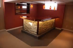 Premade Bar Custom Built Bars And Basement Renovations Max Improvements