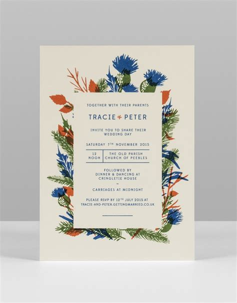 Print Wedding Invitations by 30 Amazing Letterpress Screen Printed Designs