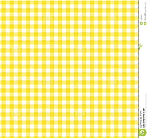 yellow gingham pattern yellow gingham stock images image 31316654