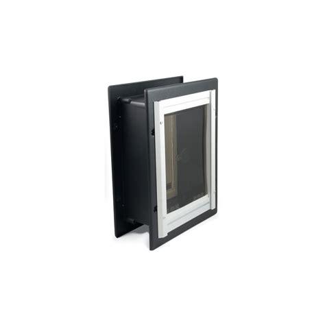Doggie Doors Lowes by Shop Petsafe Medium Aluminum Wall Pet Door Actual 11