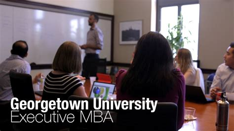 Global Executive Mba Georgetown by Executive Mba Global Capstone