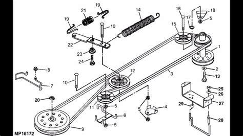 wiring diagram murray lawn mower belt 46 inch alexiustoday