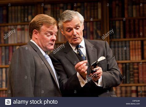 british actor chris larkin chris larkin as quot bernard woolley quot and simon williams as