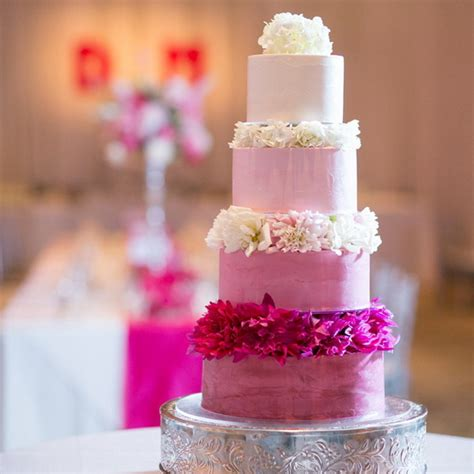 pink wedding cakes pink wedding cakes from the knot stylish