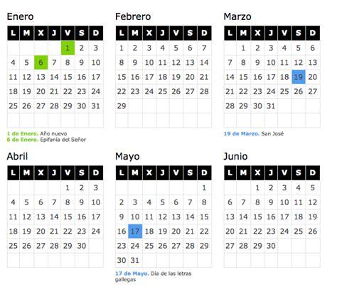 calendario laboral 2017 en galicia faro de vigo calendario laboral 2016 galicia blog de opcionis
