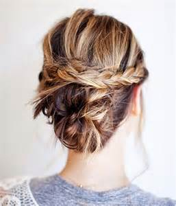hair updo shoulder hairstyles and women attire braided updo idea for