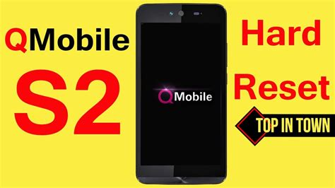 how to pattern unlock qmobile a900 qmobile s2 hard reset pattern unlock hang on noir logo