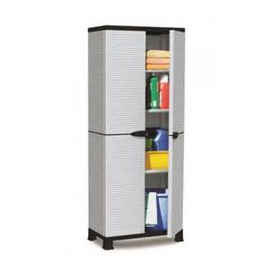Outdoor Storage Cabinets With Shelves Prestige Storage Cabinet 3 Shelves L 26 7 Quot X W 15 3 Quot X H 67 5 Quot Plascoline Outdoor Furniture