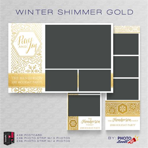 winter shimmer gold for darkroom booth photo booth talk