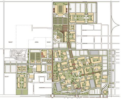 utpa map the of pan american cus master plan update gff