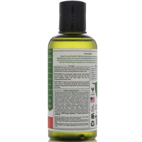 Shower Honeysuckle petal fresh softening bath shower gel honeysuckle 3 fl oz 90 ml iherb