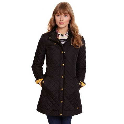Quilted Coat joules fairhurst womens quilted coat