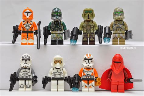 Lego Brick Sy Space Wars 219b Mini Figures 109 Pcs my brick store lego wars sy265 by sheng yuan
