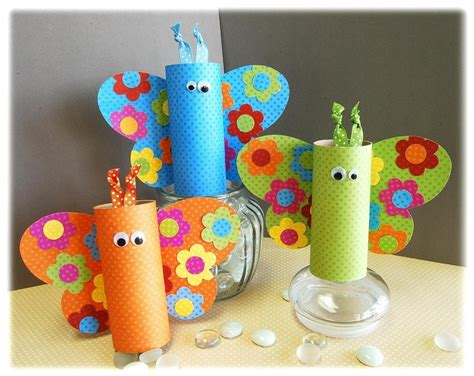 Toilet Paper Crafts - craft ideas with toilet paper rolls playtivities