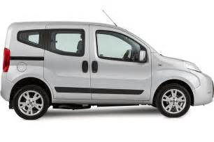 Fiat Vehicle Fiat Qubo Upfront Wheelchair Accessible Vehicle Sirus