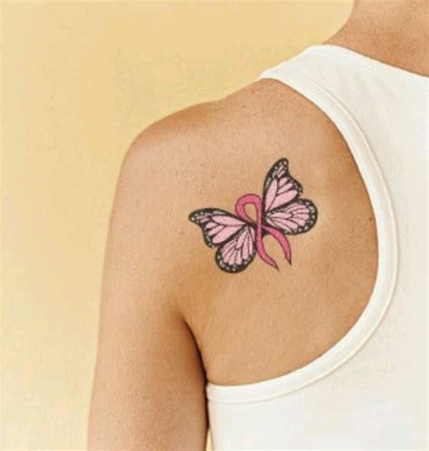 ribbon tattoo pinterest pink ribbon butterfly tattoos pinterest pink