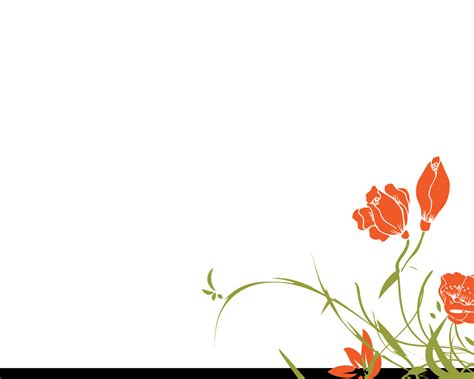 design powerpoint bunga star floral design for powerpoint powerpoint templates