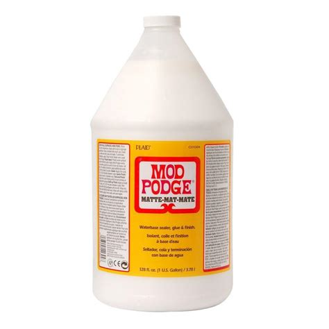 Mod Podge Decoupage - mod podge matte gallon cs11304 the home depot