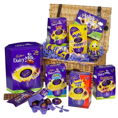 easter chocolate gifts celebration easter basket easter chocolate cadbury
