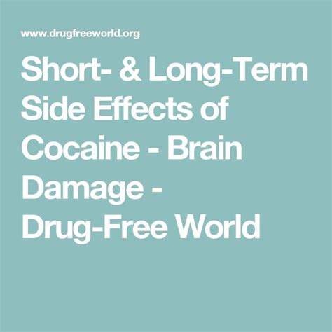 Term Medication Detox by Best 25 Effects Of Cocaine Ideas On Side