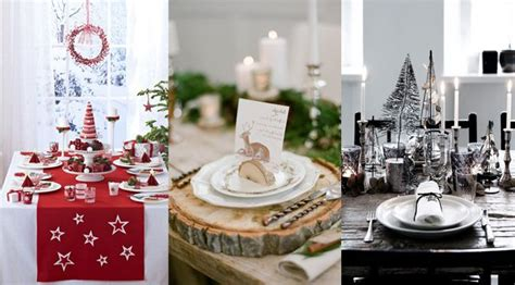 Decorer Sa Table De Noel by Decoration Table Noel 50 Id 233 Es Pour D 233 Corer Sa Table No 235 L