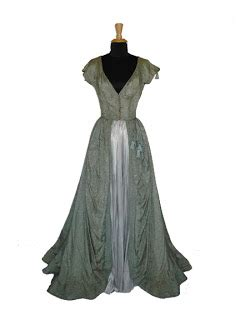 blue murder gown of green the vintage costume collector december 2009