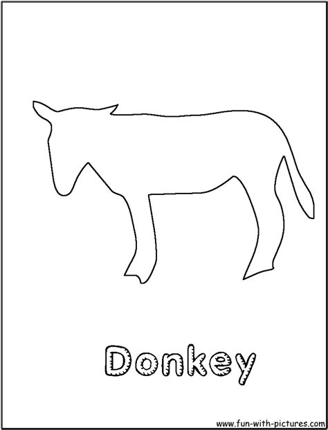 donkey tail coloring page free coloring pages of the donkey tail
