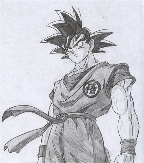 Cool Z Drawings by Goku Drawings Pencil Pic 23 Drawing And Coloring For