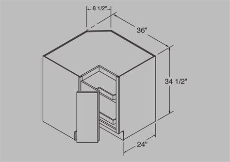 lazy susan corner base cabinet lesscare gt kitchen gt cabinetry gt villa cherry gt lcscer36vc