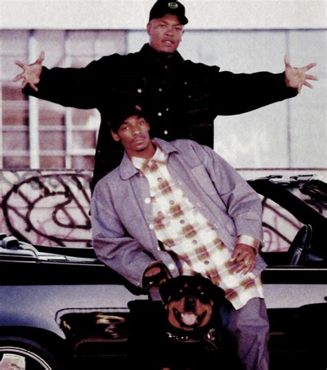 Snoop Dogg And Dr Dre Is At The Door by A Walk Through Gangster Rap Devtome