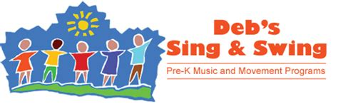 sing and swing deb s sing and swing music and movement programs for