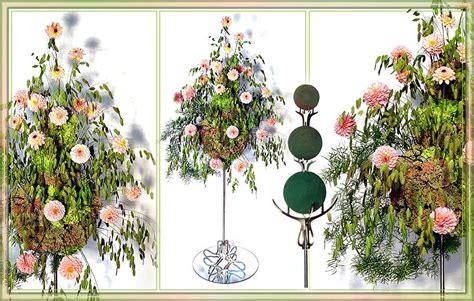 kerzenhalter für stabkerzen adventskranz steckschaumkugeln f 195 188 r die floristik