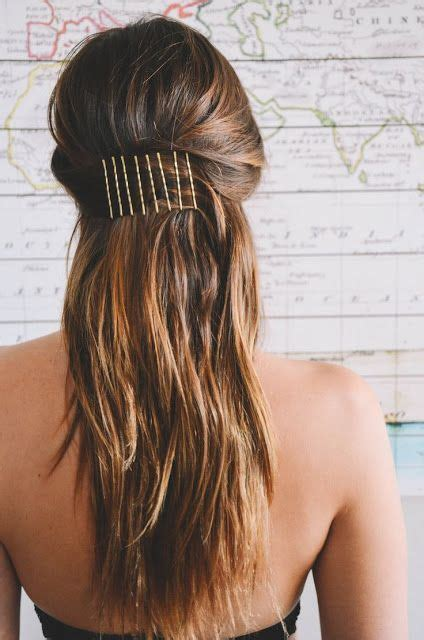 Simple Bobby Pin Hairstyles by 25 Best Ideas About Bobby Pin Hairstyles On