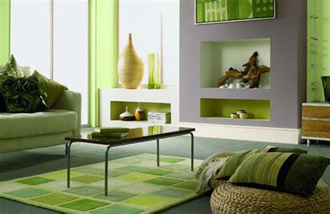 salon en color verde