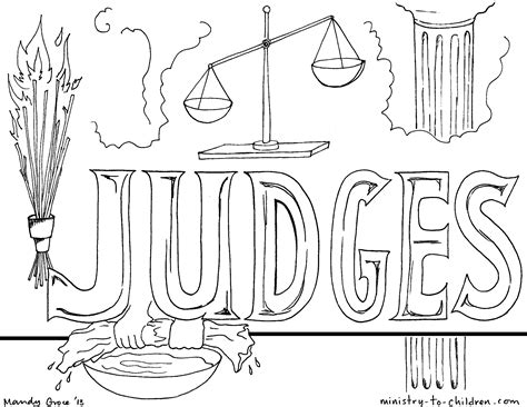 coloring pages for the book of judges book of judges colouring pages page 2