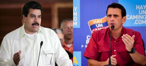 imagenes comicas de maduro y capriles maduro y capriles candidatos a elecci 243 n presidencial de
