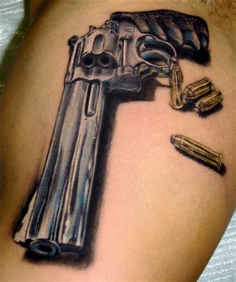 tattoo gun designs gun tattoos 15 very cool gun designs